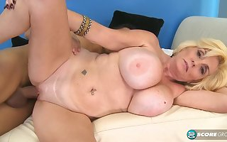 Ms. Missy Thompson fifty-eight yearold gilf gets creampied