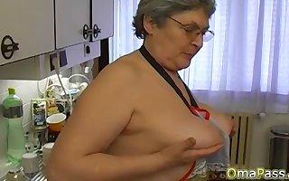 OmaPasS Narrate Amateurish Granny Photograph Compilation