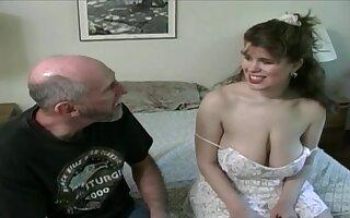 Tessa forth a ancient fart - chunky mammaries