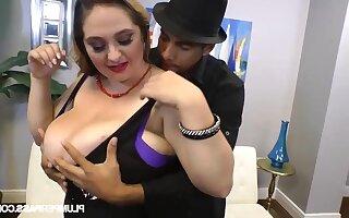April McKenzie bbw abiding porn film over